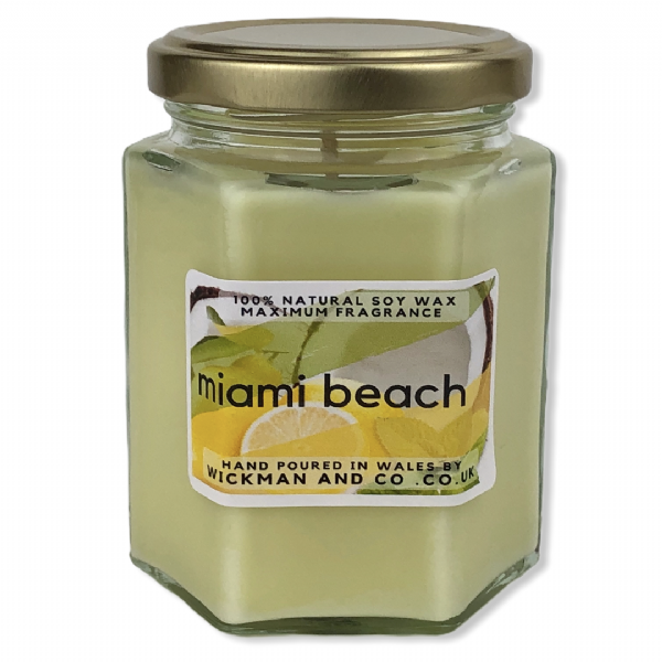 Miami Beach Soy Wax Candle
